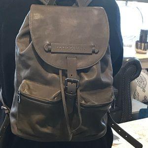 e9b0678508c5 Longchamp Bags - Longchamp 3D Leather Backpack